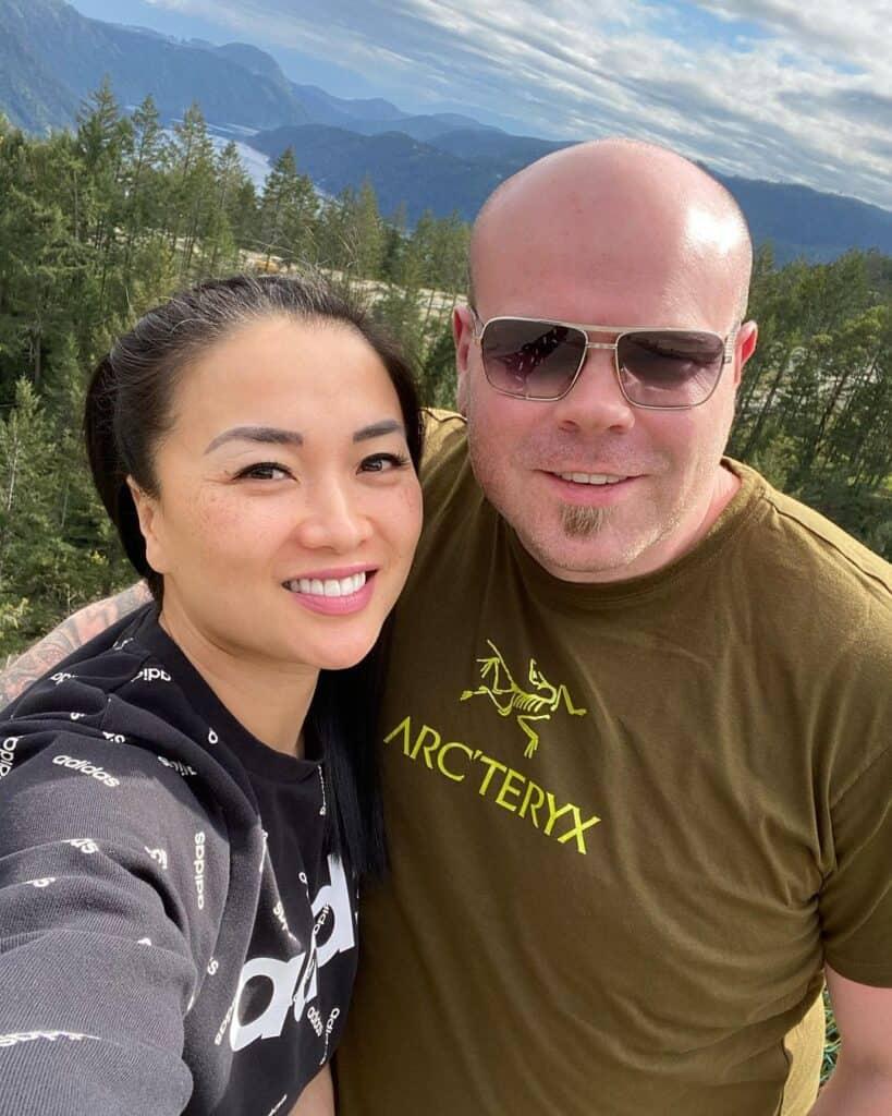 SAS ASMR with her husband.