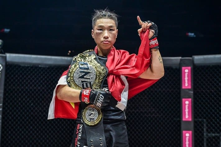 Xiong Jingnan greatest female MMA fighters of all time