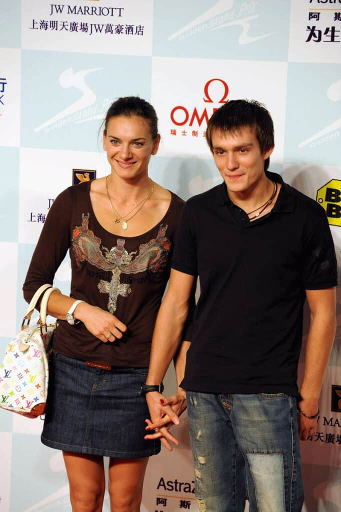 Yelena-Isinbayeva-with-her-Husband