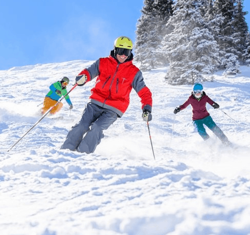 A fun-filled ski-ride