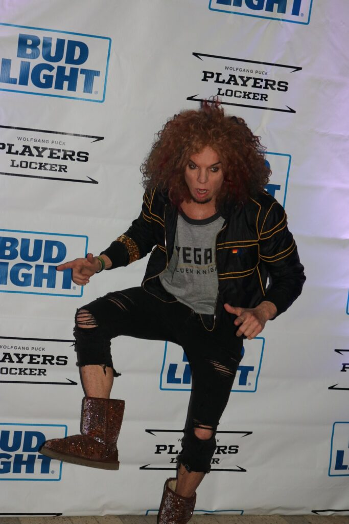 Carrot Top in an event.