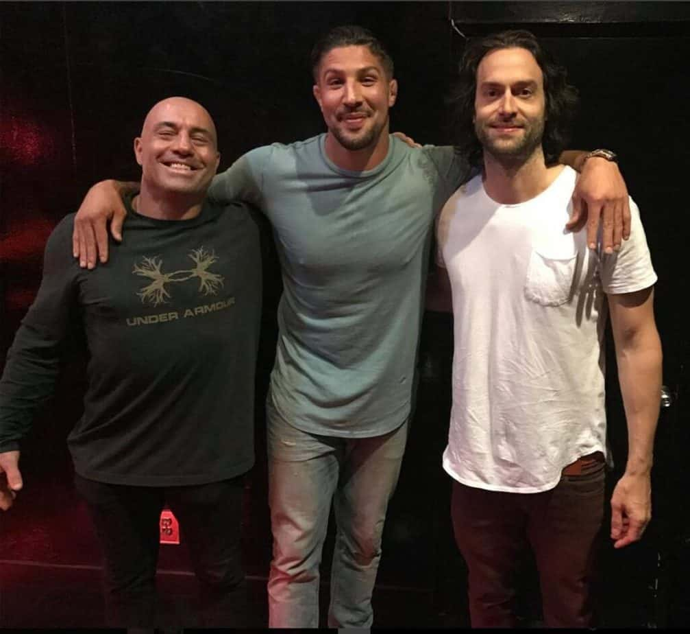 Chris D'Elia with Brendan Schaub and Joe Rogan