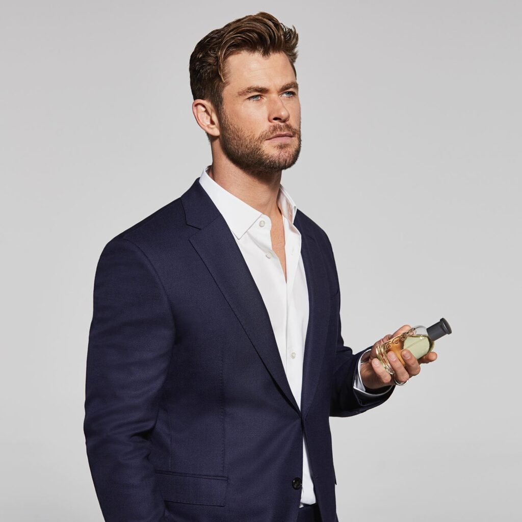 Chris Hemsworth during a promotional shoot.