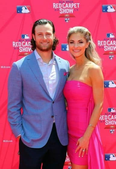 Gerrit Cole with his stunning wife Amy Cole. (Source: Wikimedia. commons)