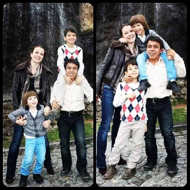 Halil-mutlu-and-his-wife-with-their-children