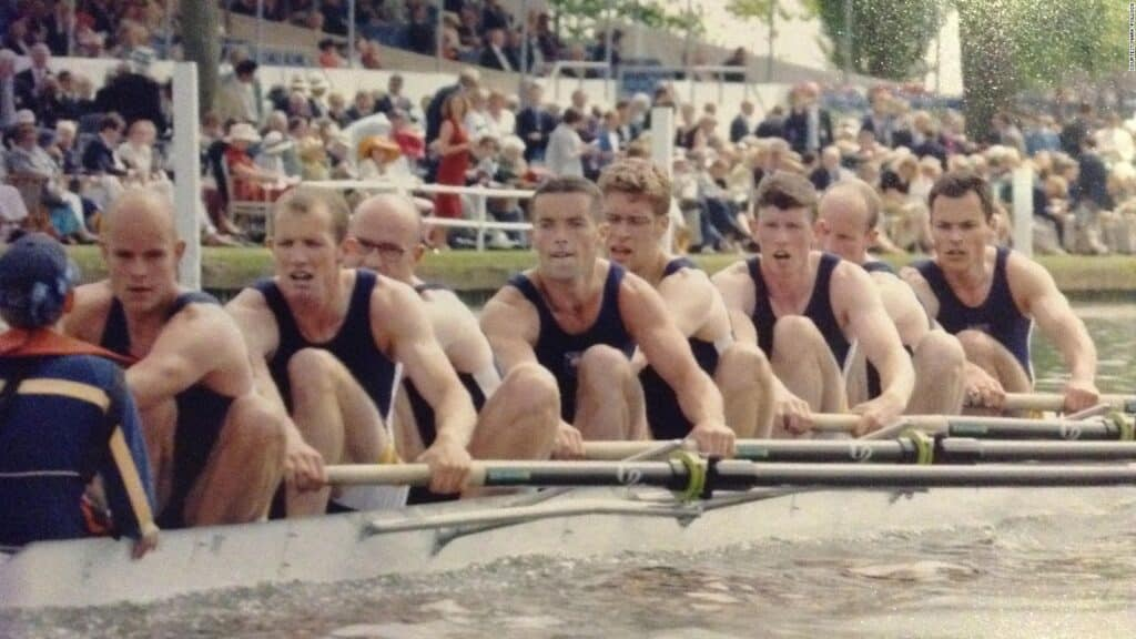 Mark in a rowing tournament