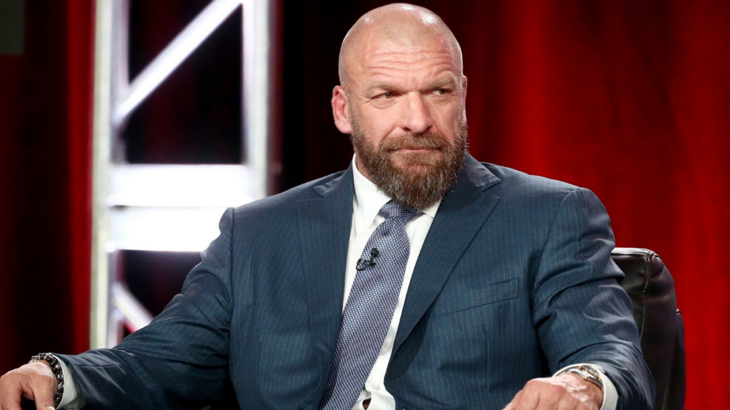 Triple H at an Event