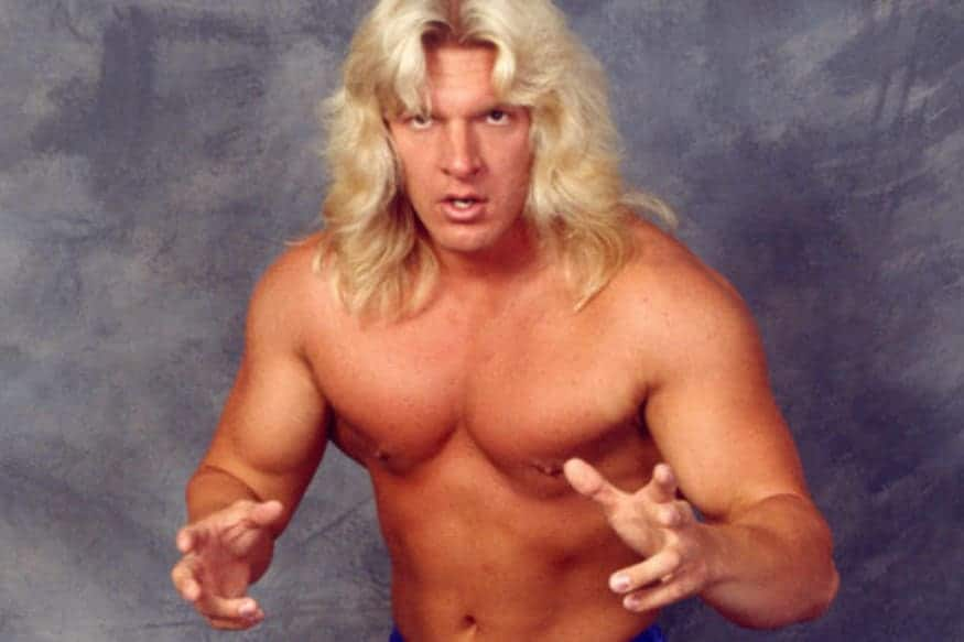 Triple H during his WCW days.