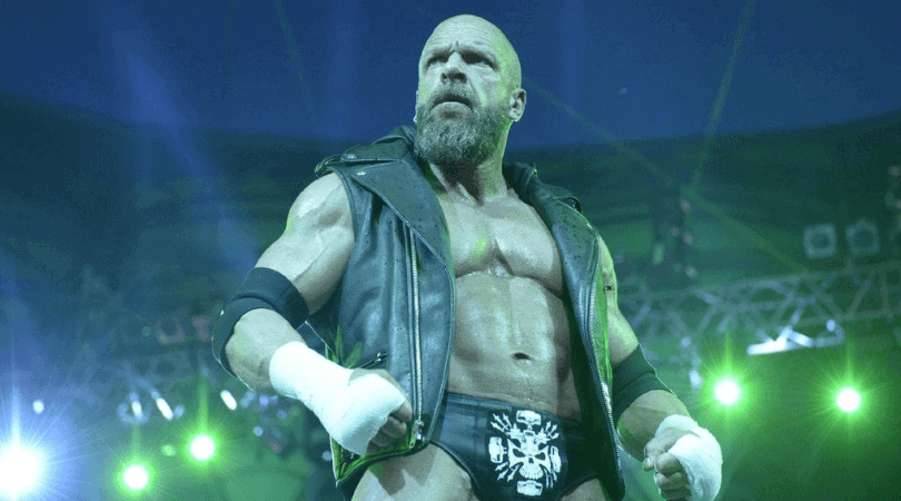 Triple H is making an iconic entry during Wrestlemania 30.