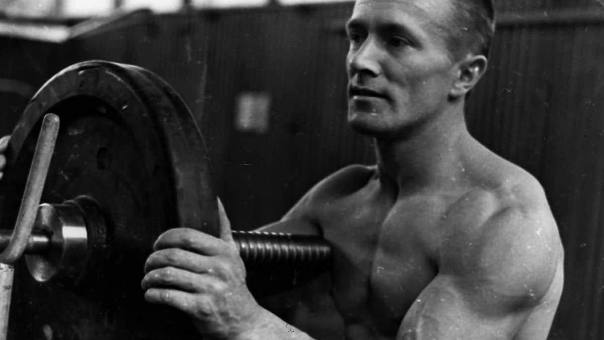 Waldemar Baszanoski during his early days.