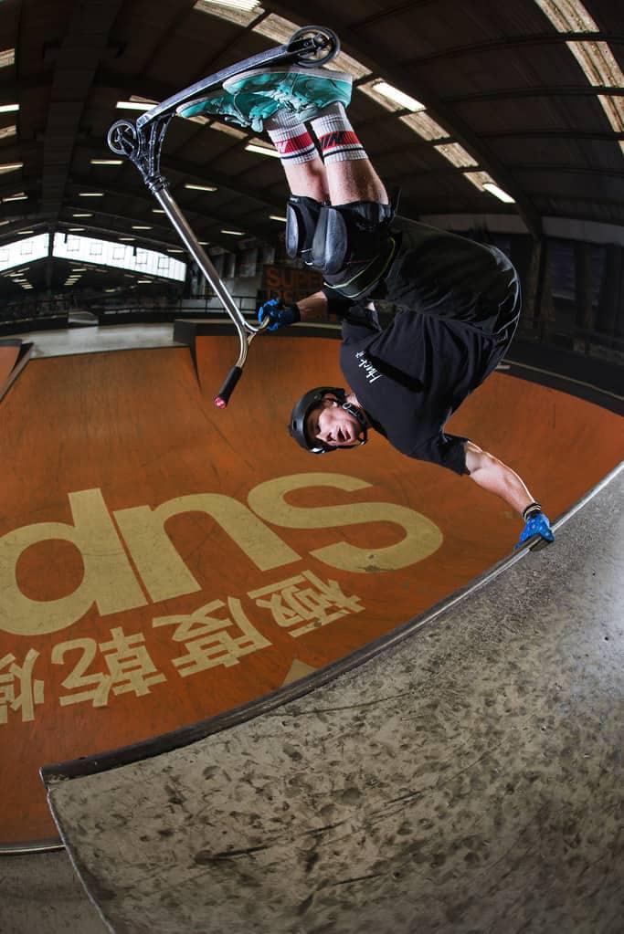 World Champion Dakota Schuetz Showcasing his mid-air tricks