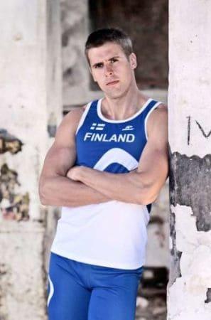 Young Finnish Athlete, Antti Ruuskanen
