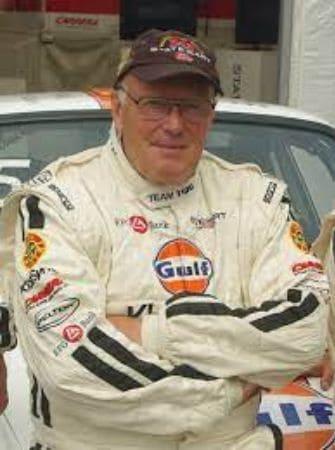 Scottish Rally Driver, Bjorn Waldegard