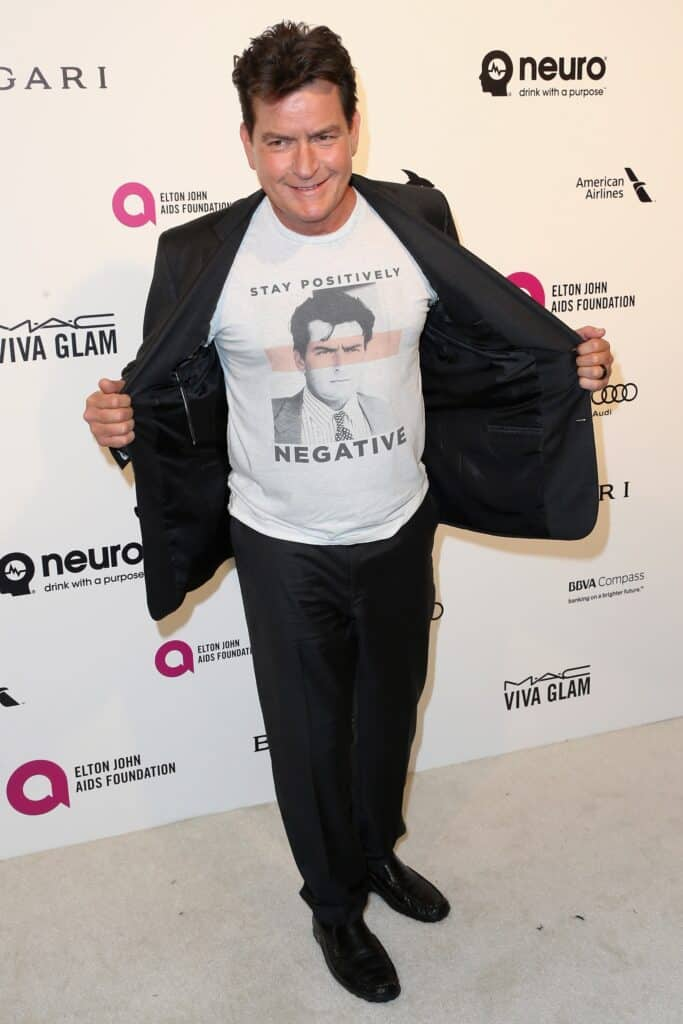 Charlie Sheen at an Event