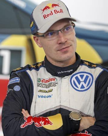 Jari-Matti Latvala a Finnish Rally Driver