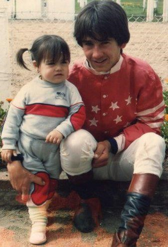 Pablo with daughter