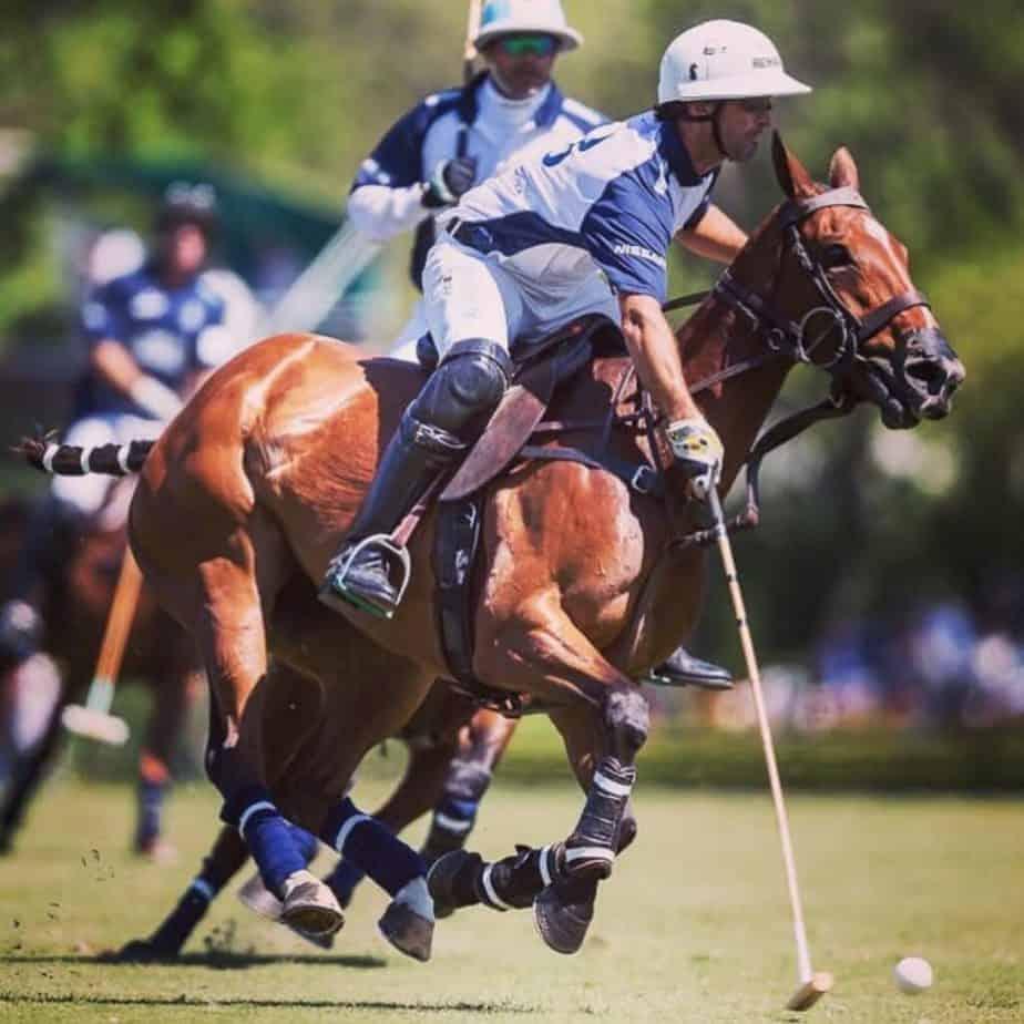 Pablo Mac Donough playing polo