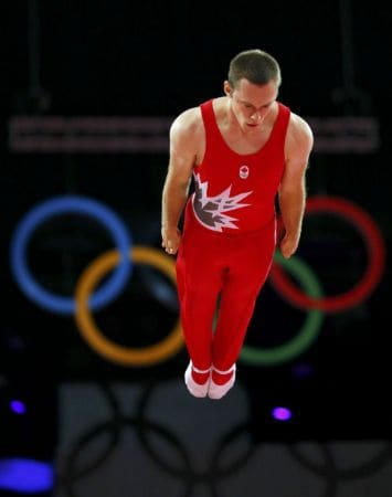 Jason during Olympic Games