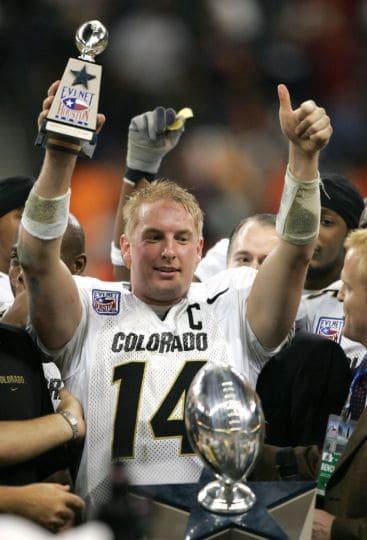 Joel Klatt Colorado Quarterback