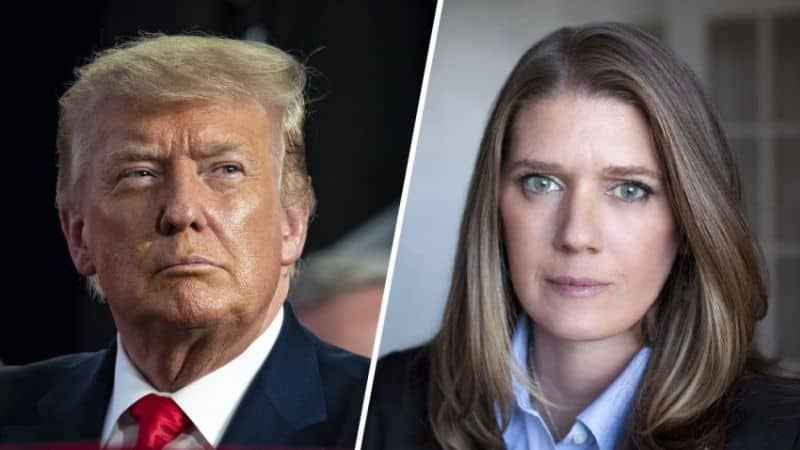 Mary against Donald Trump