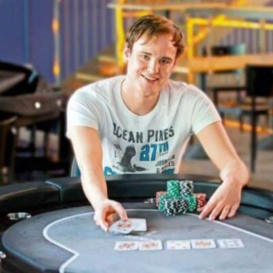 German Poker Player, Pius Heinz