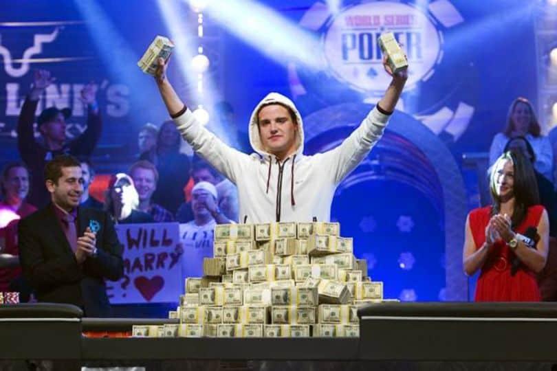 Pius Heinz Winning World Poker