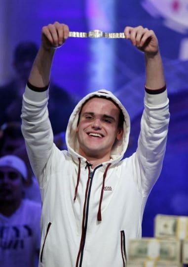 Pius Heinz Winning Poker Bracelet