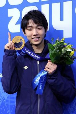 Yuzuru Hanyu at the 2014 Winter Olympics